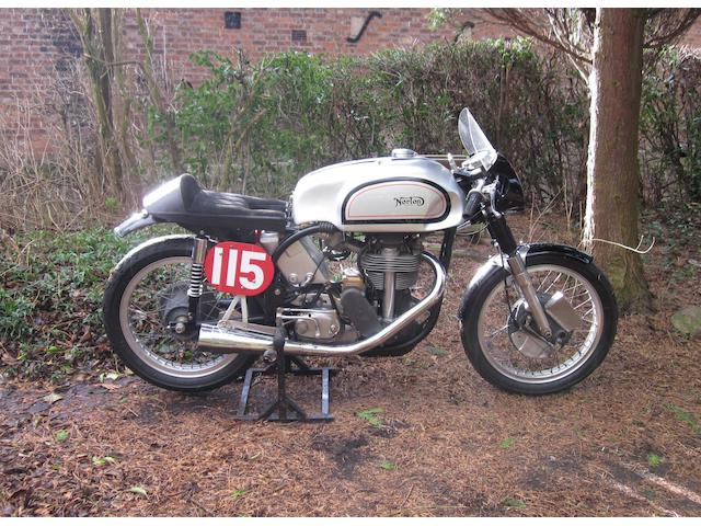 1961 Norton 500cc Manx Racing Motorcycle Frame no. M11 97283 Engine no. 11M 97283