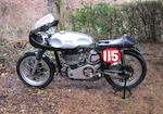 The ex-Henry Stanford, Isle of Man TT,c.1960 Mead Norton 250cc Manx Racing Motorcycle Engine no. F10M 30289