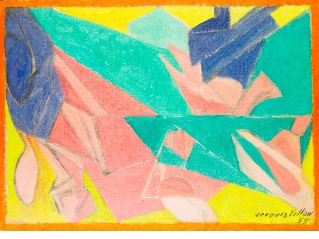 Jacques Villon (French, 1875-1963) Abstrait