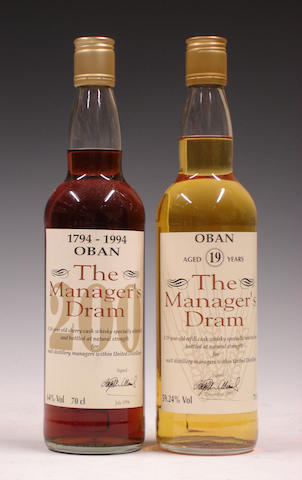 Oban Bicentenary-16 year oldOban-19 year old