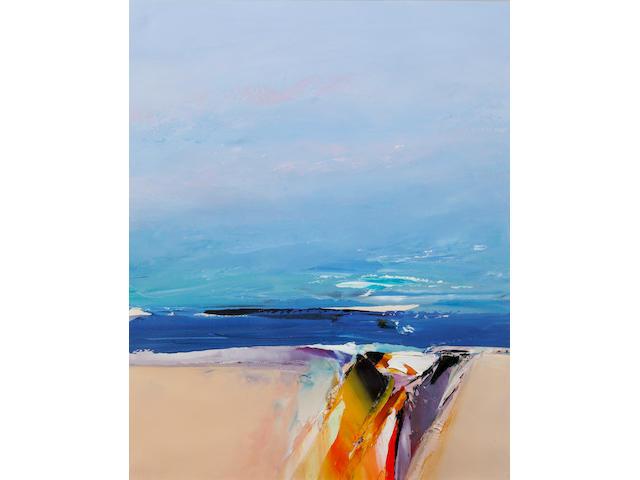 Donald Hamilton Fraser (British, 1929-2009) Beachscape