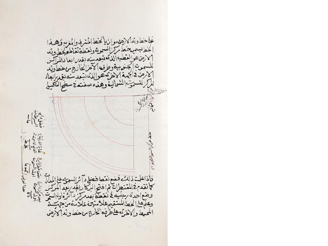 A collection of astronomical treatises, copied by Abdullah bin Ahmad bin Isma'il bin 'Isa al-Murshidi al-Hanafi al-Makki Ottoman Near East, dated 28th Dhu al-Hijja 1181/15th May 1768