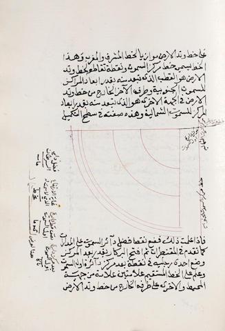 A collection of astronomical treatises, copied by Abdullah bin Ahmad bin Isma'il bin 'Isa al-Murshidi al-Hanafi al-Makki Ottoman Near East, dated 28th Dhu al-Hijja 1181/15th May 1768