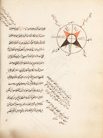 Abdallah bin Ahmad bin Yahya al-Maqdisi al-Hanbali, al-Durrah al-Fakhirah fi ma'rifat siyar al-Kawakib al-Da'irah, a treatise on astronomy, with numerous diagrams Near East, dated AH 1054/AD 1644-45 or later