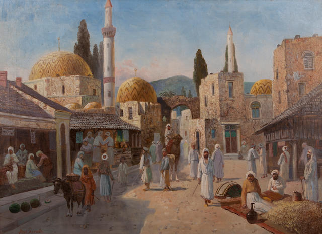 Jose Garate 'A North African Market scene'