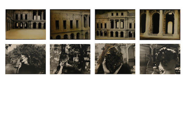 Laila Muraywid (Syrian It's time that the stone starts to listen, 2008 Overall 132 x 164 cm, image size (each) 33 x 41 cm.