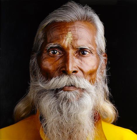 Jean-Baptiste Huynh, Inde-Portrait XXX, 1994, colour coupler print, framed