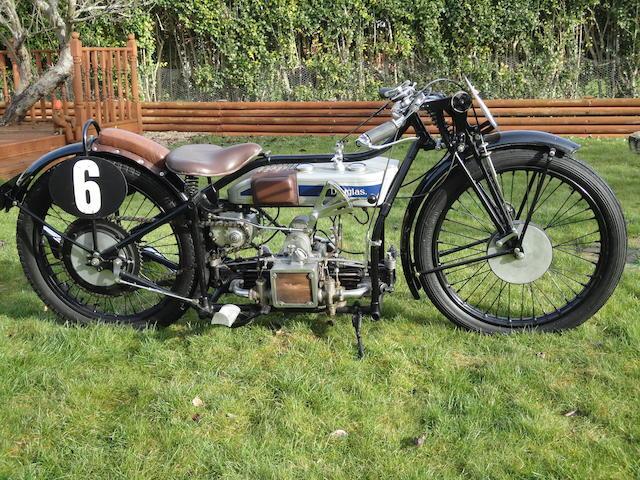 1929 Douglas 498cc SW5 Speed Model Frame no. TF483 Engine no. EL959