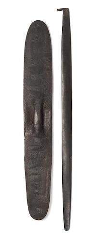 south australian aborigional shiled - 18c
