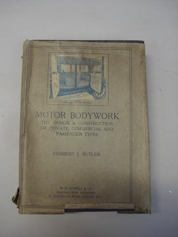 Herbert Butler; Motor Bodywork;