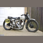 c.1945 Norton 490cc Model 18 Racing Motorcycle Engine no. 1992