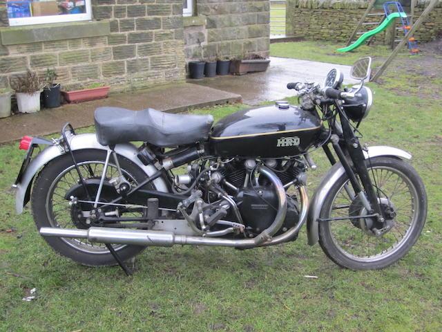 1949 Vincent 998cc Rapide Series C