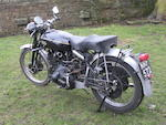 c.1950 Vincent-HRD 998cc Rapide Frame no. RC/1/4714 Engine no. F10AB/1/5941