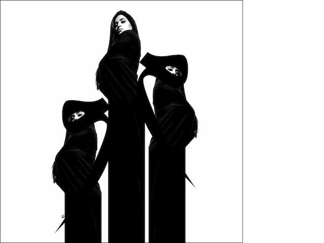 Bijan Seyfouri (Iranian I am you are 150 x 150cm (59 1/16 x 59 1/16in).