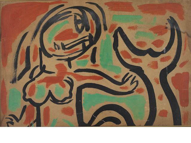 Bedri Rahmi Eyüboğlu (1911-1975) Mermaid