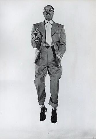 Philippe Halsman (American, 1906-1979), Philippe Halsman 'Groucho Mrx' c1950