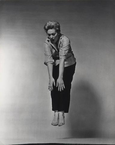 Philippe Halsman (American, 1906-1979) Kim Novak, circa 1950 29.4 x 23.3cm (11 9/16 x 9 3/16in).