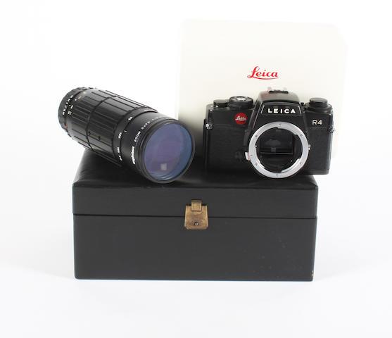 Leica R4 camera