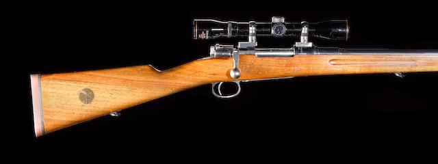 A 6.5x55mm sporting rifle by Carl Gustaf, no. 118765