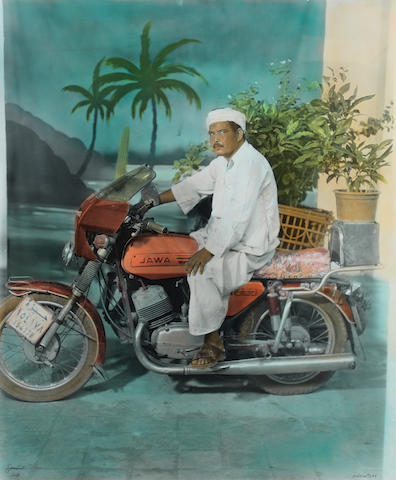 Osama Esid (Syrian, born 1970) The Fantastic Jawa, 2008 60.4 x 52cm (23 3/4 x 20 1/2in).