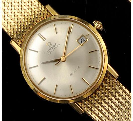 Omega: An 18ct gold gentleman's Automatic De Ville wristwatch