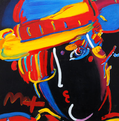 Peter Max (German/American, born 1937) 'Zero Spectrum'