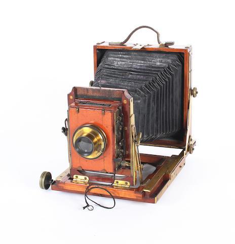 Lancaster Excelsior Instantograph field camera