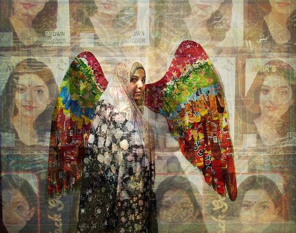 Hojat Amani (Iranian, born 1979) Angels, 2010