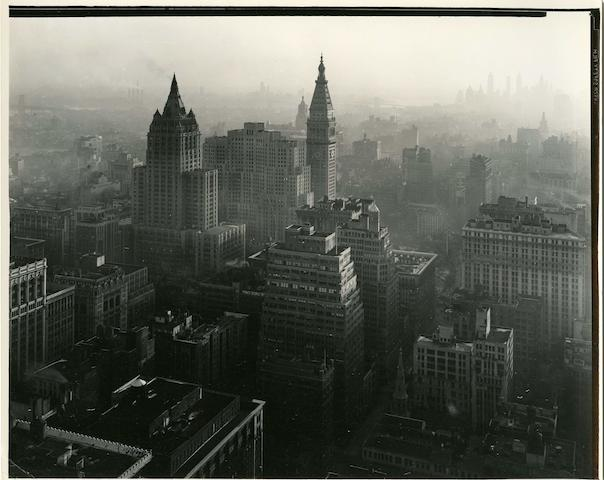 Todd Webb (American, 1905-2000) View from Empire State Building, 1946 20.3 x 25.4cm (8 x 10in).