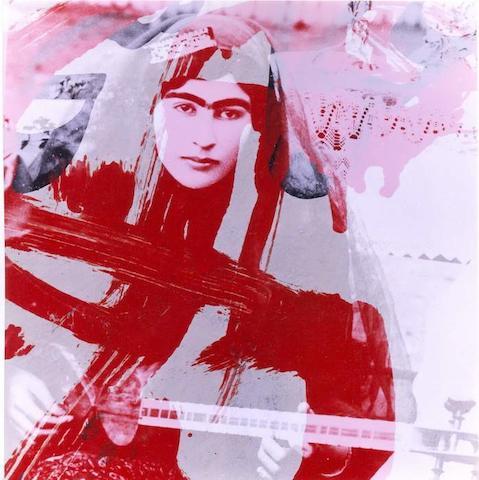 Bahman Jalali (Iran, born 1944) 70 x 70cm (27 9/16 x 27 9/16in).