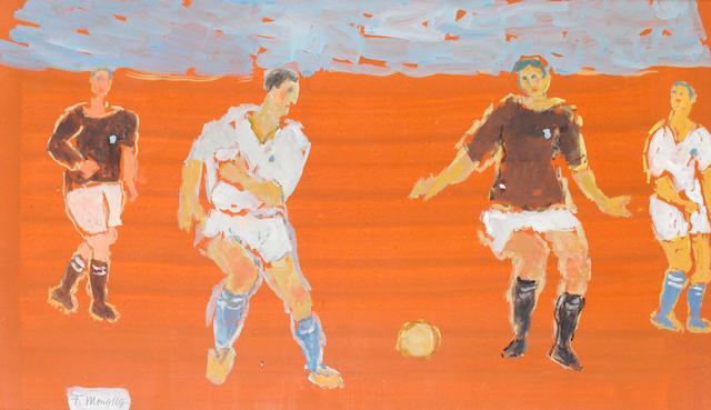 Fikret Mualla (1903-1967) Football Players,
