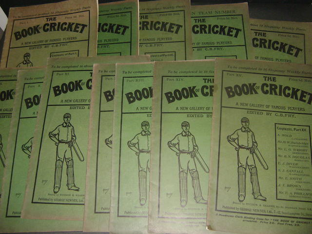 'The Book of Cricket' 13 volumes Edited by C B Fry