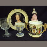 A small collection of Royal commemorative ceramics