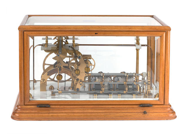 A fine exhibition-quality Fire Alarm Telegraph station, by Beasley-Gamewell, London, circa 1890,