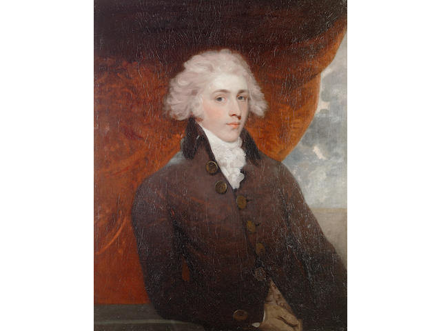 Sir Martin Archer Shee, P.R.A. (Irish, 1769-1850) Portrait of John Pitt, 2nd Earl of Chatham (1756-1835)