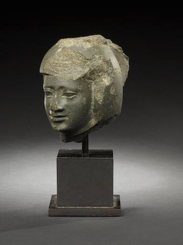 An Egyptian greywacke male head???????