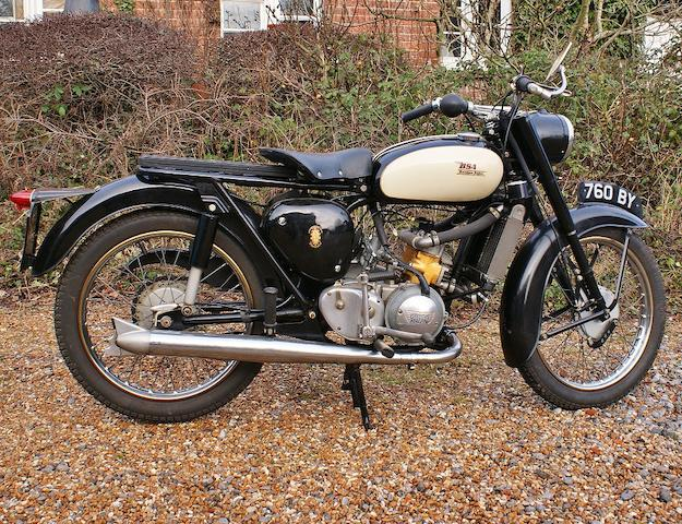 1961 BSA Bantam 242cc British Anzani Special Frame no. D7 26342 Engine no. CJ1111