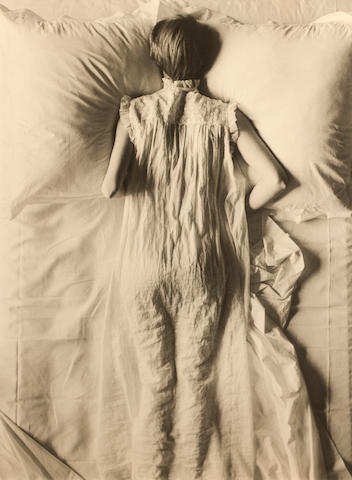 Irving Penn (American, 1917-2009) Girl in bed, 1949 53.3 x 40.6cm (21 x 16in).