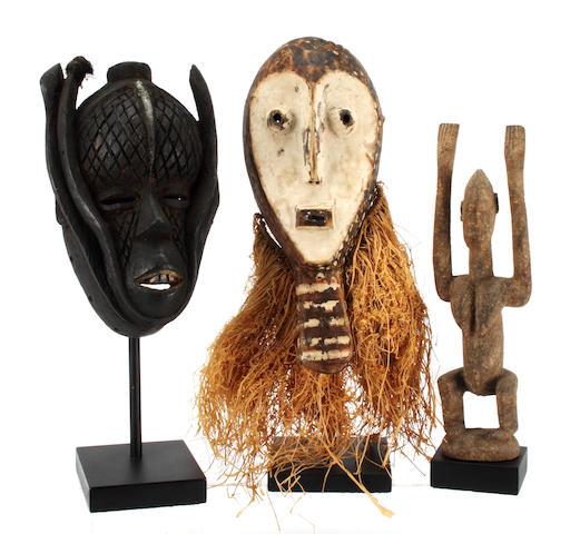 An Ibo mask, Nigeria, 6