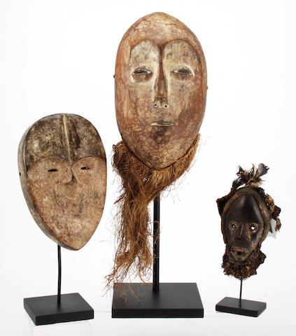 A miniature Dan mask Liberia/Ivory Coast 6