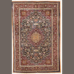 A Saber Mashed carpet, North East Persia, circa 1940, 303cm x 206cm (9ft 11in x 6ft 10in) excellent condition throughout