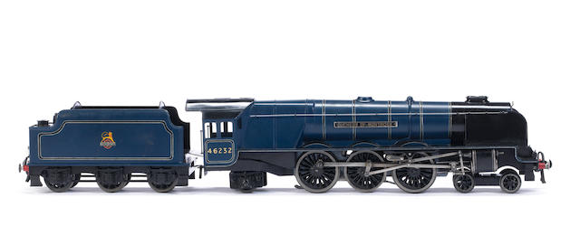Bassett-Lowke 5613/0 electric BR blue Princess Coronation Class 4-6-2 'Duchess of Montrose' locomotive and tender
