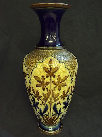 A Doulton Lambeth vase