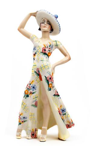 An Essevi figure of a lady, probably Sandro Vacchetti Circa 1935