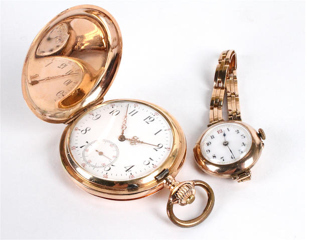 A full hunter pocket watch (2)