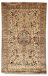 A Kashan silk rug, Central Persia, circa 1920, 6 ft 11 in x 4 ft 3 in (209 x 130 cm) good condition throughout