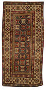 A Talish runner, South Caucasus, circa 1880, 8 ft 5 in x 4 ft (255 x 122 cm)some minor wear and corrosion