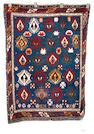 A Shirvan rug, South East Caucasus, circa 1900, 4 ft 3 in x 3 ft (130 x 90 cm) good condition throughout
