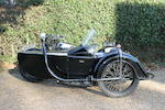 1938 Brough Superior 982cc SS80 Motorcycle Combination Frame no. M8/2013 Engine no. 4714
