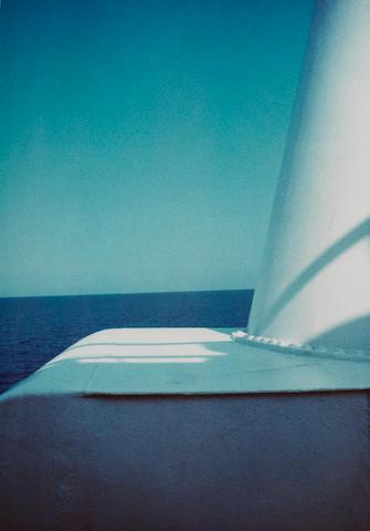 Luigi Ghirri (Italian, 1943-1992) Sea, L'Île Rousse, 1976